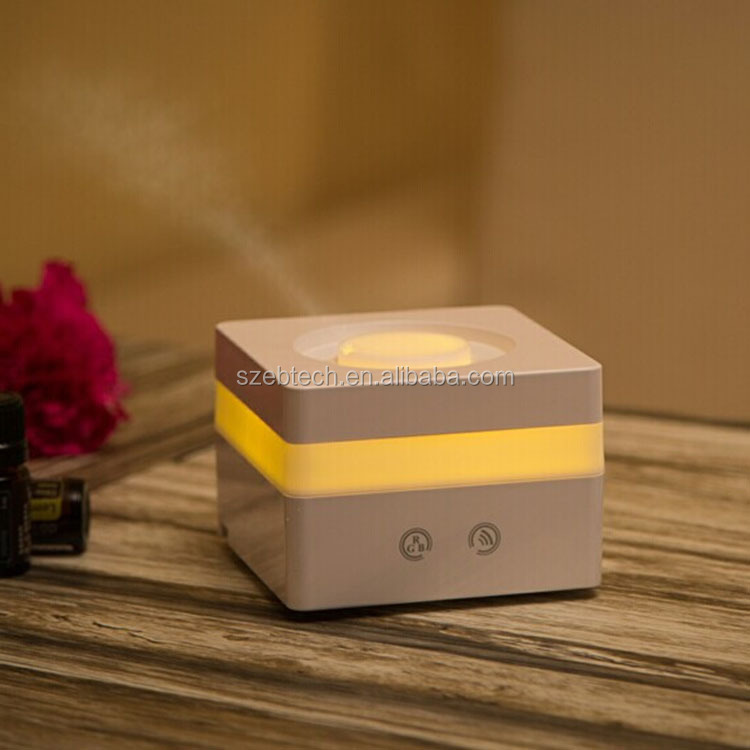 Waterless Shut-off 120ML Ultrasonic Essential Oil Usb Aroma Diffuser