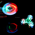 Fire-Wolf crystal fidget spinner LED light spinner