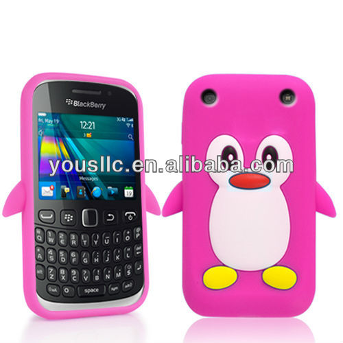 PENGUIN SILICONE SKIN Mobile Phone Case COVER FOR BLACKBERRY CURVE 9320