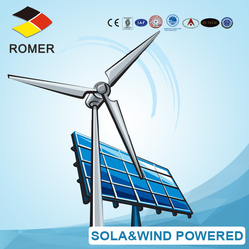 Solar and wind power water treatment system RSW-SS-3 3000LPD Pure Drinking Water Plant