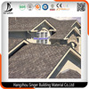 Competitive Price Fiberglass 3-tab Red Asphalt Roofing Shingles for House Construction