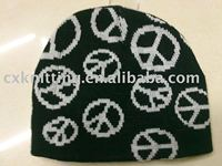 promotional acrylic sport knitted hat