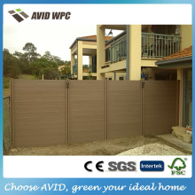 China Water Proof Eco Friendly Products composite garden fence