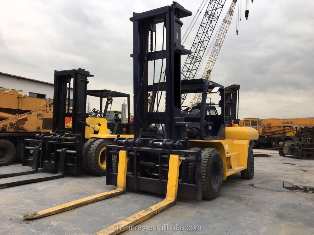 Used 25 ton forklift Japan original for sale, year 2010