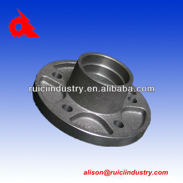 Industrial hub wheel ductile iron casting fcd500
