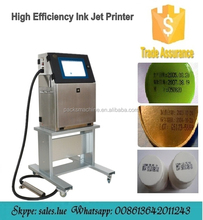 digital industrial continuous batch code inkjet printer/small character date ink jet printer