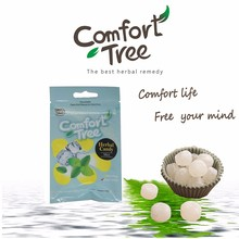 Cool and Comforting Mint Flavoured Herbal Throat Candy with zipper seal pack