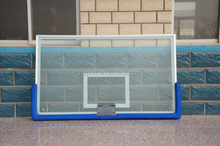Common Quality Toughened Glass basketball Backboard