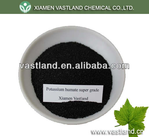 Super potassium humate fulvic shiny powder