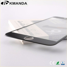 High Quality 2.5D Rounded 0.3mm Anti-fingerprint Tempered Glass Screen Protector for iPhone 6