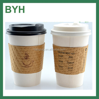 Wholesale Corrugated Paper Cup Sleeve Disposable Coffee Cups