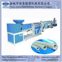 PPR Plastic Processed and Pipe, supply and drain pipe Application PPR pipe making machine