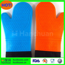 Barbecue Heat Resistant Silicone Gloves & Oven Kitchen Grill BBQ Cooking Mitts