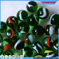 Dark colorful flat glass marbles for wall coating