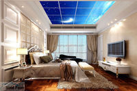 2016 bedroom starry night ceiling light panel
