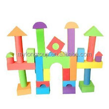 2015 hot sell different design toy good quality eva block