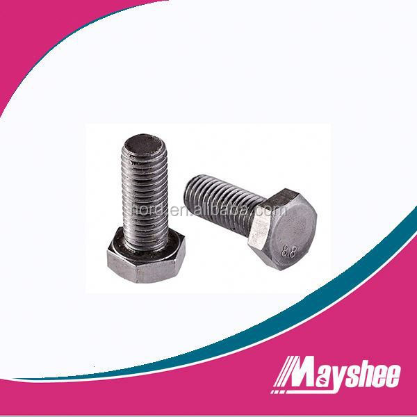 A193 B8 B8M Stud Bolt with A194 8 8M Heavy Hex Nut