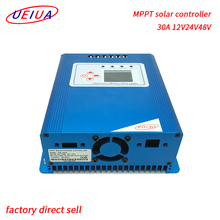2017 UEIUA new design cheap price 12v 24v 48v 30a 50a 60a mppt solar <strong>charge</strong> <strong>controller</strong>