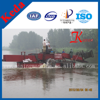 High Efficiency Weed Harvester & Water hyacinth Cutting Ship & Floating Garbage Collect Boat/Dredger