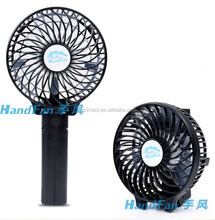 HF308 4 inch Mini Portable Rechargeable Handheld Battery usb mini table fan