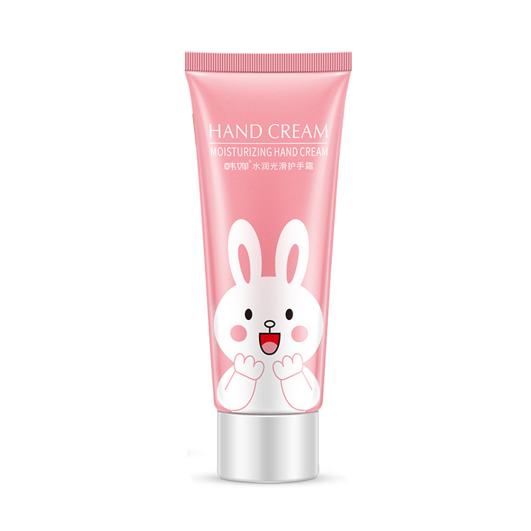 OEM/ODM Hanchan Rabbit Cartoon Hand Cream For Skin Care Moisturizing Nourishing and Tender Hand