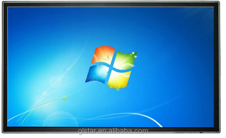"32"" inch LCD full HD IPS screen, LED backlight touch screen all in one pc, wall-miunting advertising equipment"