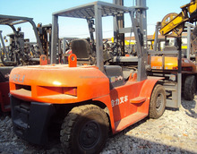 Used 10 ton forklift for sale, Heli CPCD100 forklift!