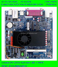 Onboard Intel Celeron 1037U 1.8G dual core based Mini ITX motherboard with 2 LAN 8COM 6 USB 4 SATA ITX-GS1037B