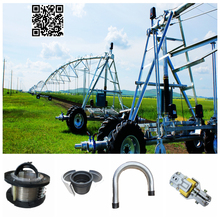 Automatic Agriculture Used Two Wheels Lateral Move /Center Pivot Irrigation Machine System