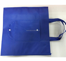 Custom Logo Printing Reusable Non Woven Foldable Shopping Bags Recyclable
