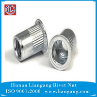 M3 M12 Steel Round Body Ribbed