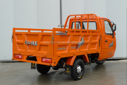 New design 200cc rickshaw style truck cargo tricycle