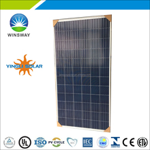 Yingli 72-cell 315 watt multicrystalline solar pv modules with high quality