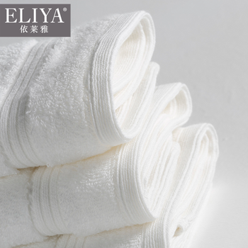 Bath towel price china velvet fashion hand towel white hotel bath towel,hotel surplus and motel towels