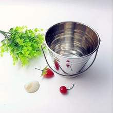 wholesale stainless steel buckets pails decorative ice bucket pail ice bucket