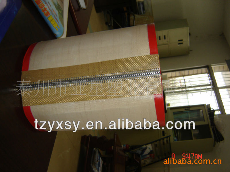 ptfe coated open mesh fiberglass conveyor belt