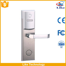 door locks for hotels with software,card,reader,enery saver switch