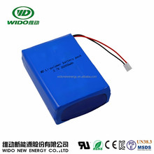 WIDO lithium battery 30ah 3.7v replacement battery for camping light bright light
