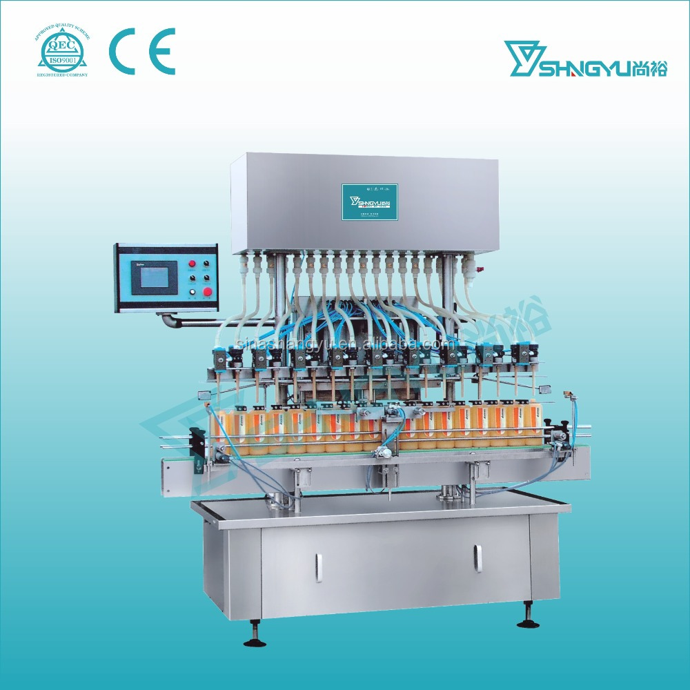 Alibaba China supplier Production line for Toilet Cleaner plastic material anticorrosive filling machine
