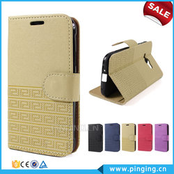 Wholesale Retro Pattern Wallet Stand PU Leather Folio Case For Micromax A92 With Card Slot Case