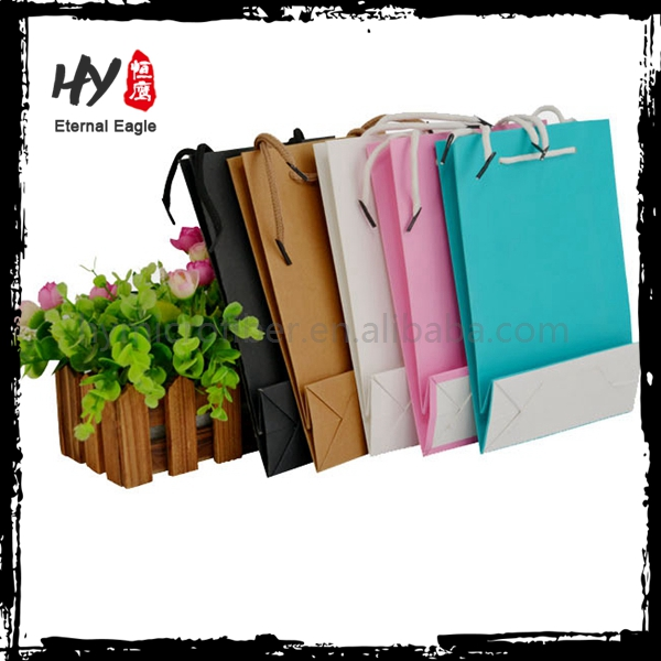 Brand new craft gift shopping paper bag for wholesales