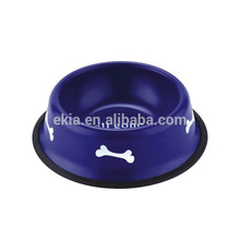 Pet Bowl Dog Food XS/S/M/L/XL Stainless Steel Pet Dog Cat Bowl