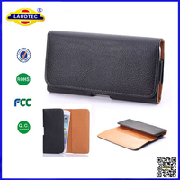 For iPhone 6 4.7 inch Leather Wallet Case Cover Holster With Belt Clip,Flip leather wallet case --Laudtec