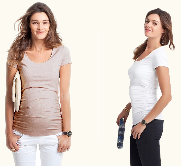 Wholesale Blank Maternity T Shirts High Quality