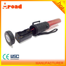 alibaba supplier 260*30mm top light led traffic wand sale