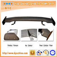 Best Price! Carbon Fiber Car Spoiler For Honda Fit/Jazz 2009-2013 JS Big Auto Rear Spoiler
