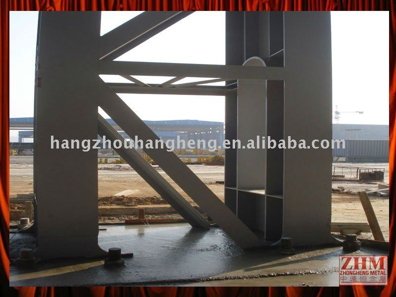 Steel Structure Building Construction Column and Beam