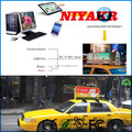 Niyakr Top Ten LED Manufacturers Wireless Advertising Publicidad Taxi LED Display Publicity