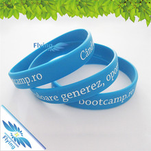 Custom scan round QR code silicone bracelet for promotional gift,hot sale newest personalized design