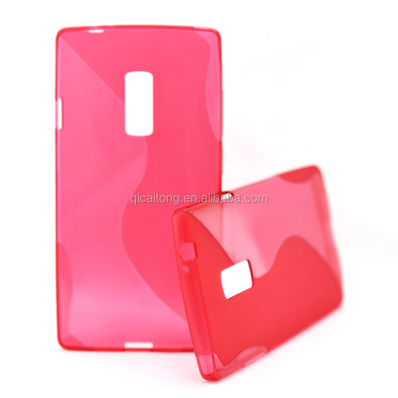 PaypalWholesale S line tpu gel mobilephone case for One Plus